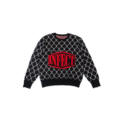 TRAPPED LOGO SWEATER - TRILL Marketplace