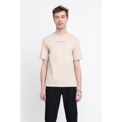 BH Signature Cotton SS T-Shirt (Bone) - TRILL Marketplace