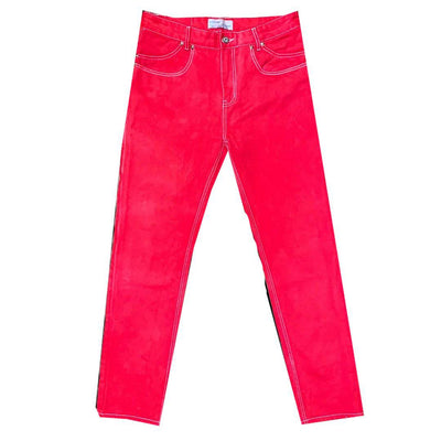 [ basic ] denim-Red - TRILL Marketplace