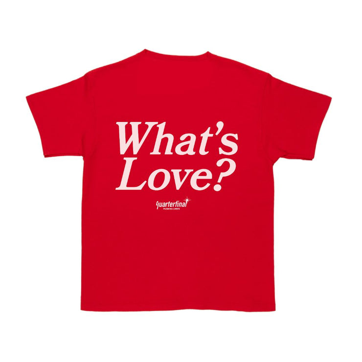 QTFL WHAT'S LOVE TEE - TRILL Marketplace