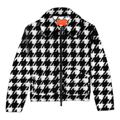 Houndstooth Jacket - TRILL Marketplace