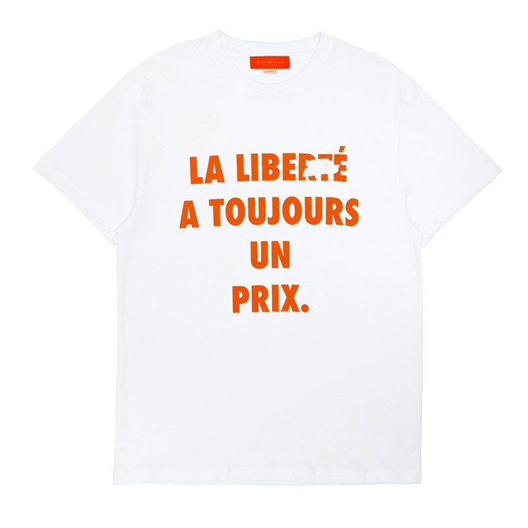 LIBERTÉ T-SHIRT (WHITE) - TRILL Marketplace