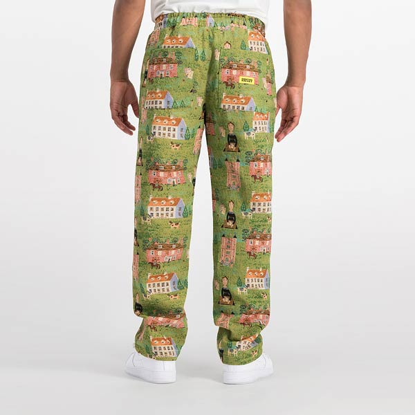 WOVEN TAPESTRY PANT - TRILL Marketplace