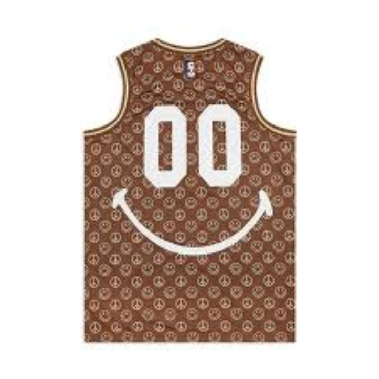 SMILEY CABANA BASKETBALL JERSEY - TRILL Marketplace
