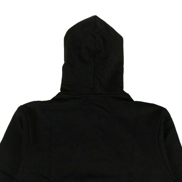 COTTON 'RATHER SLEEP' HOODIE SWEATSHIRT - BLACK - TRILL Marketplace