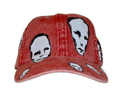 DREAMER HAND PAINTED HAT - RED