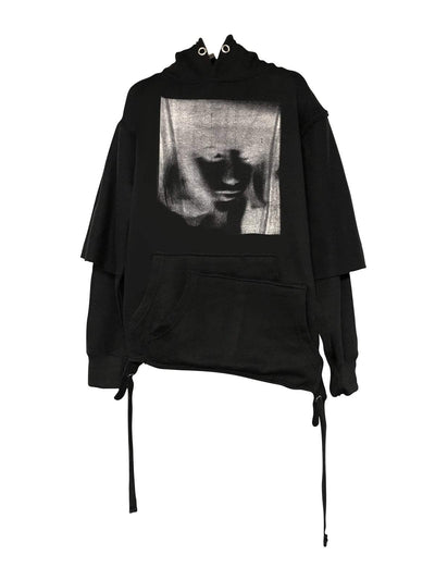 LAYERED HOODIE -SILOUETTE A