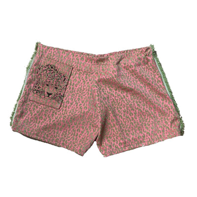 Pink Leopard Shorts - TRILL Marketplace