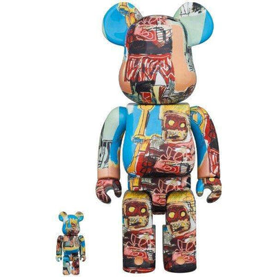 JEAN-MICHEL BASQUIAT 400%+100%  V6 BEARBRICK - TRILL Marketplace