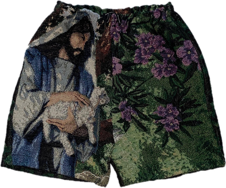 WORSHIP 95 YOUNG LAMB FLORAL SHORTS