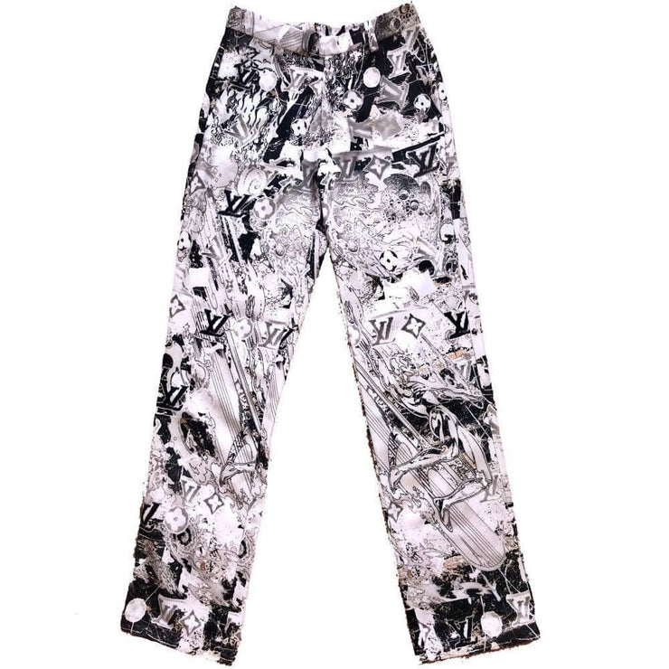 SILVER SURFER PANTS - TRILL Marketplace