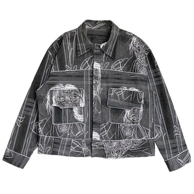 KALO CEKA DENIM JACKET - TRILL Marketplace