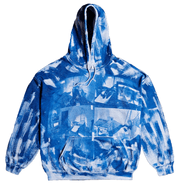 Negative Feed Hoodie 006 (BLUE) - TRILL Marketplace