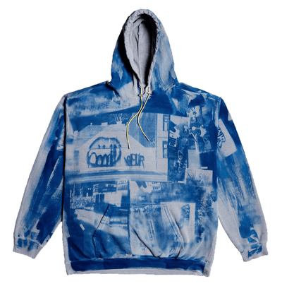 Vour X Negative Feed Hoodie 002(BLUE) - TRILL Marketplace