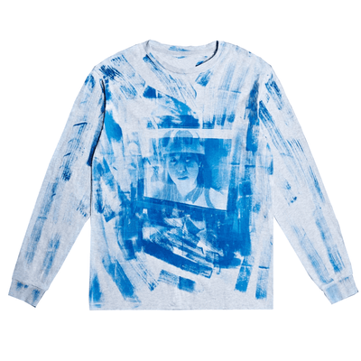 Negative Feed Long sleeve 010 (BLUE) - TRILL Marketplace