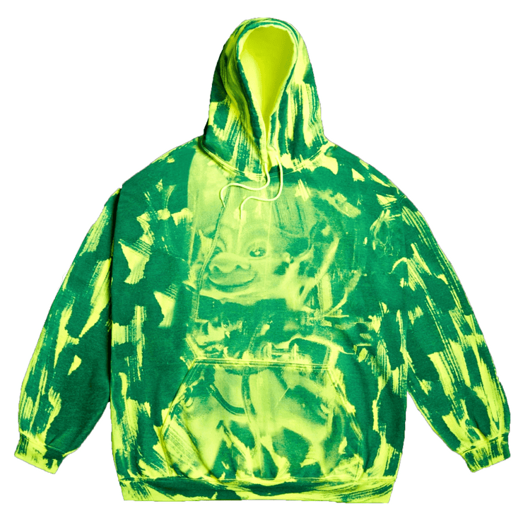 Manards x Negative Feed Hoodie 009 (Green) - TRILL Marketplace