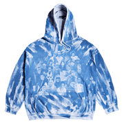 Negative Feed Hoodie 007 (BLUE) - TRILL Marketplace