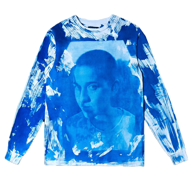 Negative Feed Long sleeve 011 (BLUE) - TRILL Marketplace