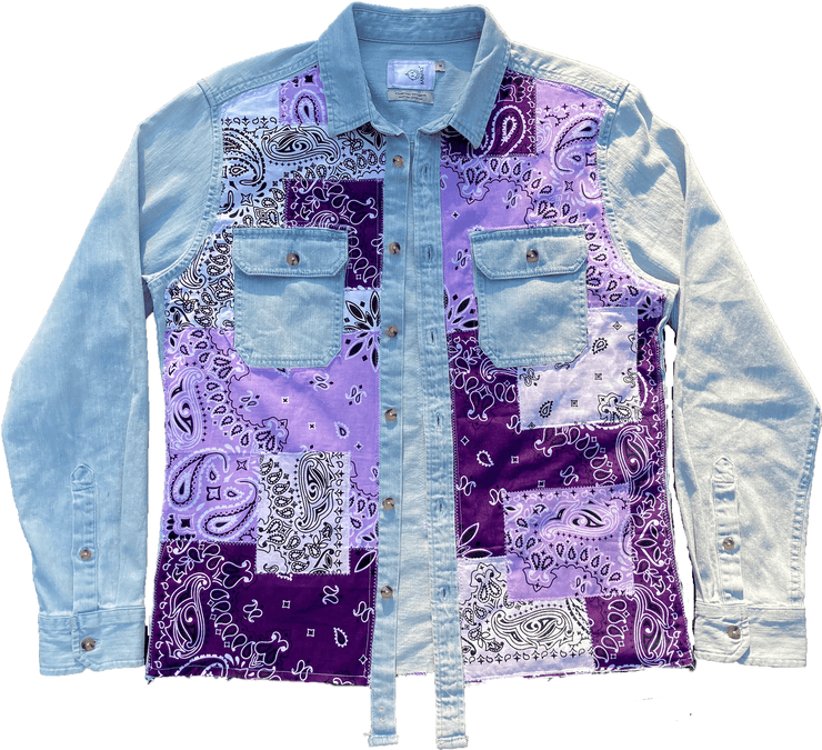 Purple Paisley Denim Pack