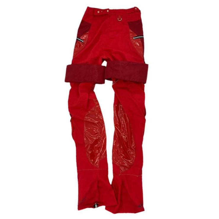 RED HYBRID PANTS - TRILL Marketplace