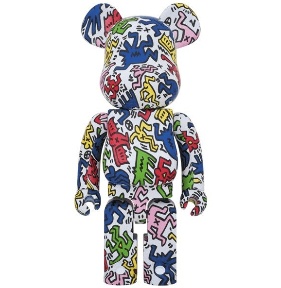 KEITH HARING 100% + 400% (DANCING PEOPLE) BEARBRICK - TRILL Marketplace