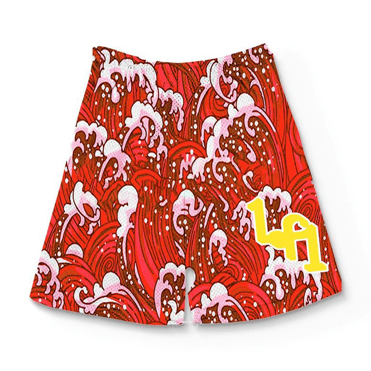 RED WAVE SHORTS