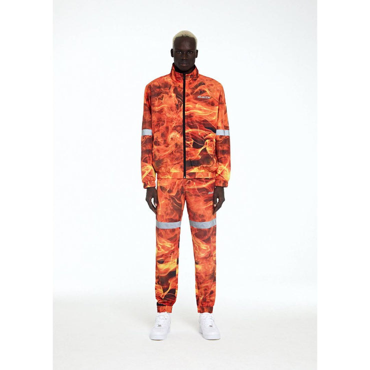 ALL OVER PRINTED TRACKSUIT JACKET