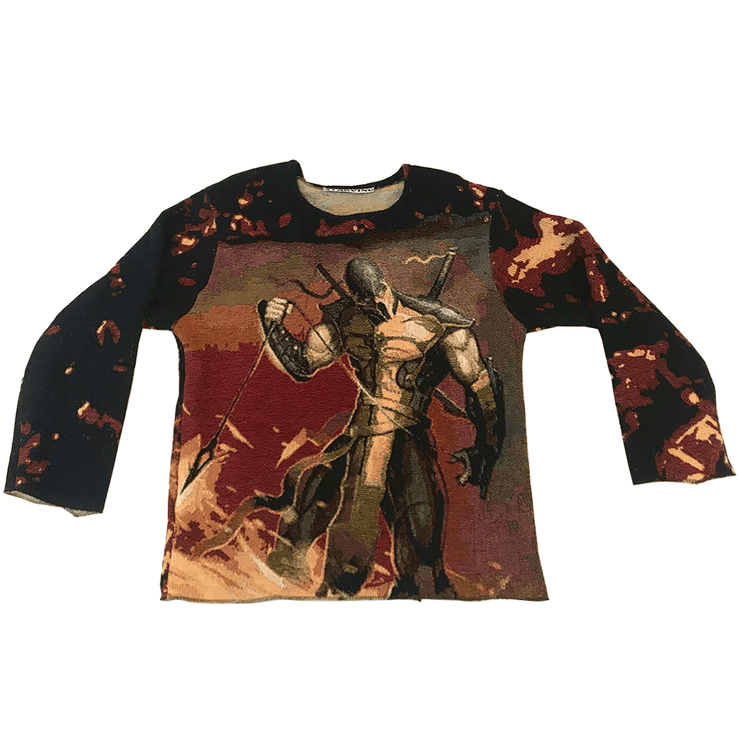 Fatality Woven Tapestry Crewneck