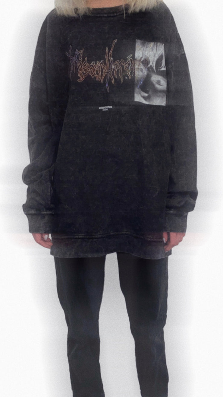 WASHED CREWNECK - TRILL Marketplace