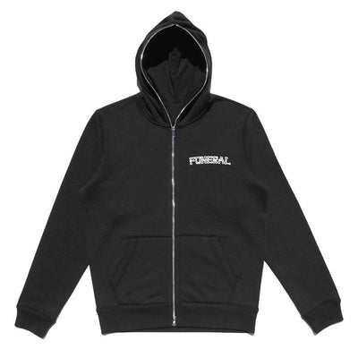 LOGO ZIP BODY BAG HOODIE - TRILL Marketplace