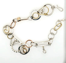 Load image into Gallery viewer, Sterling and Gold Bracelet - kim crocker designs