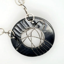 Load image into Gallery viewer, Stainless Steel and Sterling Silver Pin and Necklace - kim crocker designs