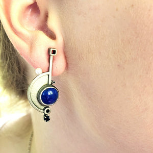 Lapis Earrings - kim crocker designs