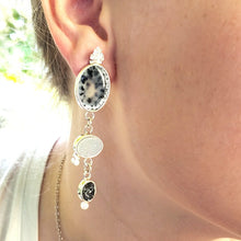 Load image into Gallery viewer, Dendritic Opal Earrings