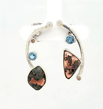 Load image into Gallery viewer, Native Copper Earrings - kim crocker designs