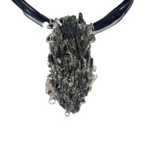 Load image into Gallery viewer, Black Kyanite Pendant - kim crocker designs