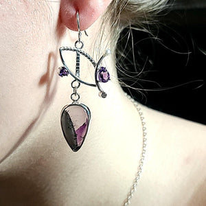 Chevron Amethyst - kim crocker designs