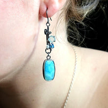 Load image into Gallery viewer, Larimar Earrings - kim crocker designs