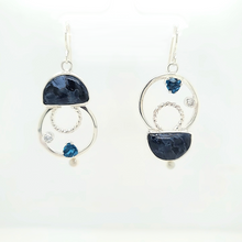 Load image into Gallery viewer, Petersite Earrings
