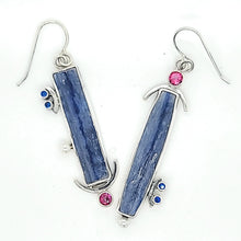 Load image into Gallery viewer, Blue Kyanite Earrings