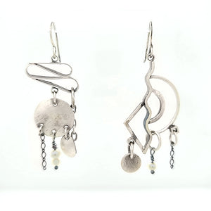 Mix and Match Sterling Silver Earrings