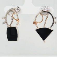 Load and play video in Gallery viewer, Black Onyx Earrings