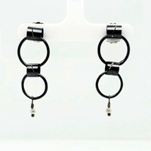 Load image into Gallery viewer, Sterling Silver Tube Earrings