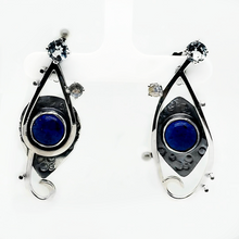 Load image into Gallery viewer, Lapis Earrings
