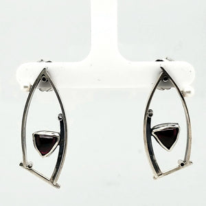 Garnet Earrings - kim crocker designs