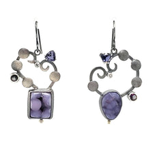 Load image into Gallery viewer, Grape Agate Earrings - kim crocker designs