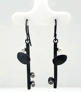 Sterling Silver Flower Earrings - kim crocker designs