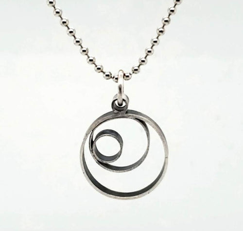 Triple Circle Pendant - kim crocker designs