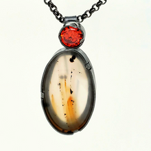 Load image into Gallery viewer, Montana Agate Pin~Pendant