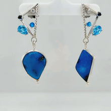 Load and play video in Gallery viewer, Turquoise Earrings